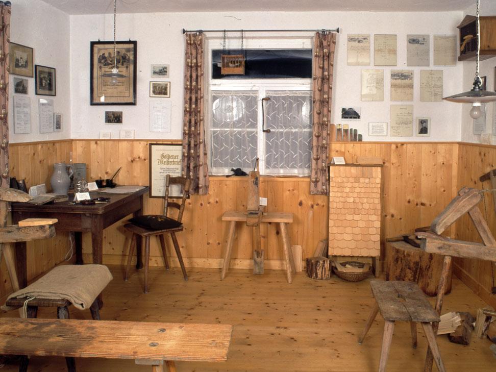 Heimat- und Schindelstüble, Dornhan, Innenraum