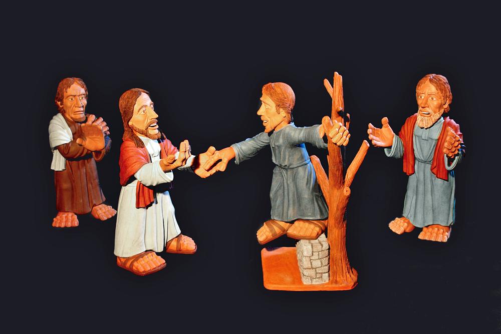 Krippenfiguren Ausstellungen Kloster Heiligenbronn, Schramberg