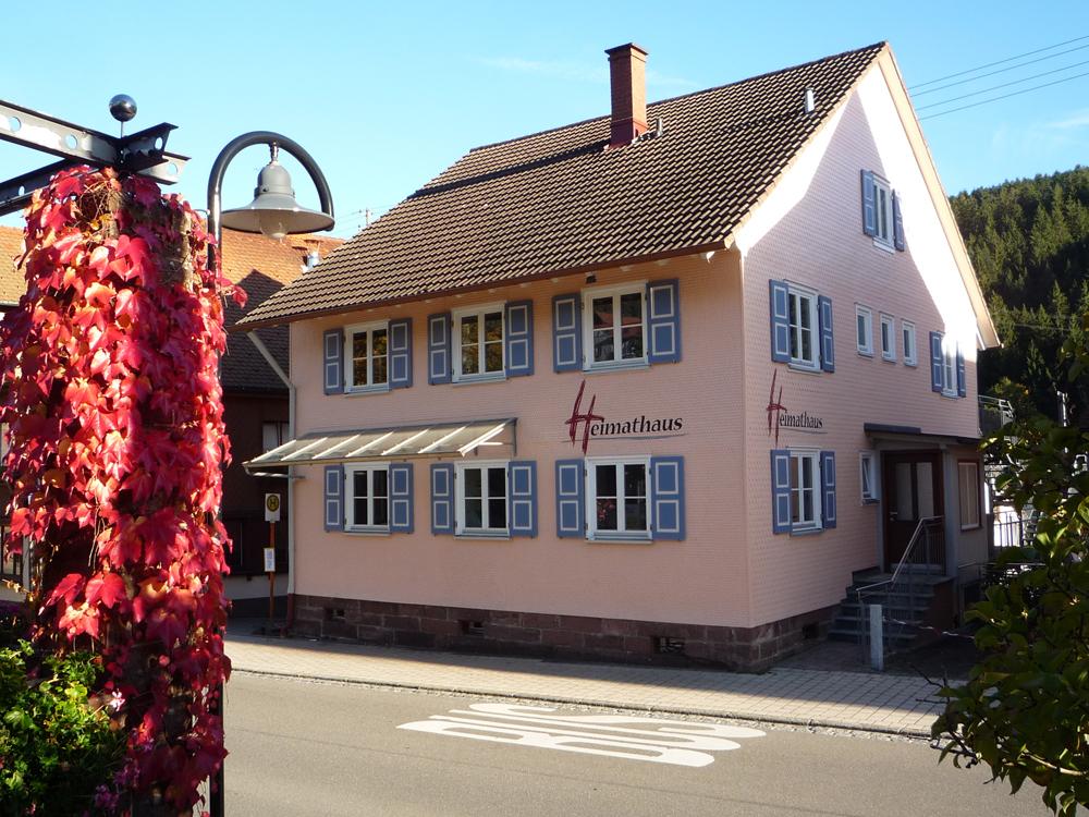 Heimathaus Tennenbronn, Schramberg, Gebäude