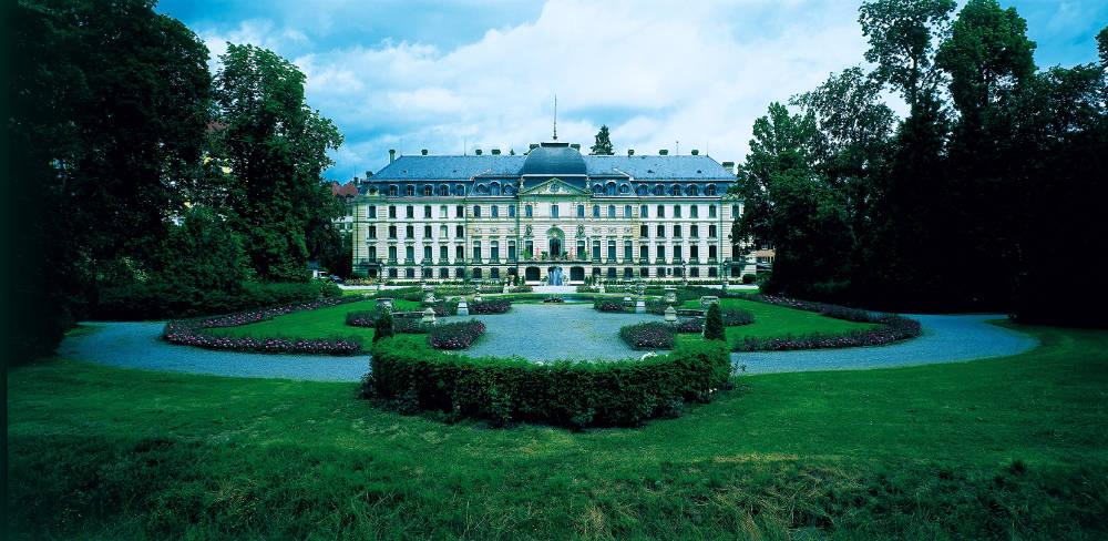 Fürstlich Fürstenbergisches Schloss, Donaueschingen, Garten