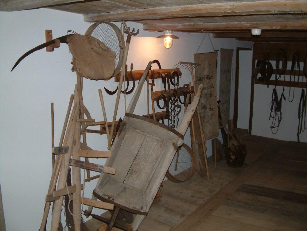 Kardinal Bea-Museum historische landwirtschaftliche Geräte