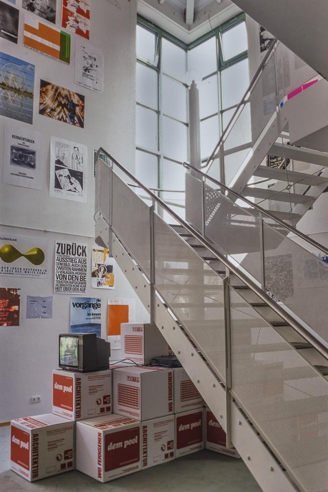 Städtische Galerie im Turm Donaueschingen Treppenaufgang
