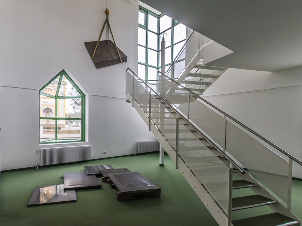 Städtische Galerie im Turm Donaueschingen Besucher Obergeschoss