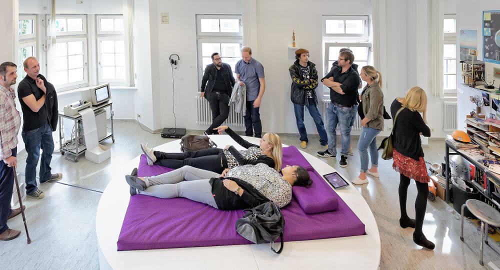 Ausstellungseröffnung am 28.06.2014 in der Städt.Galerie , Villingen-Schwenningen