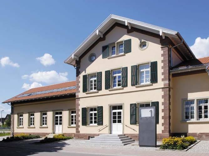 Schulmuseum Hüfingen, Gebäude
