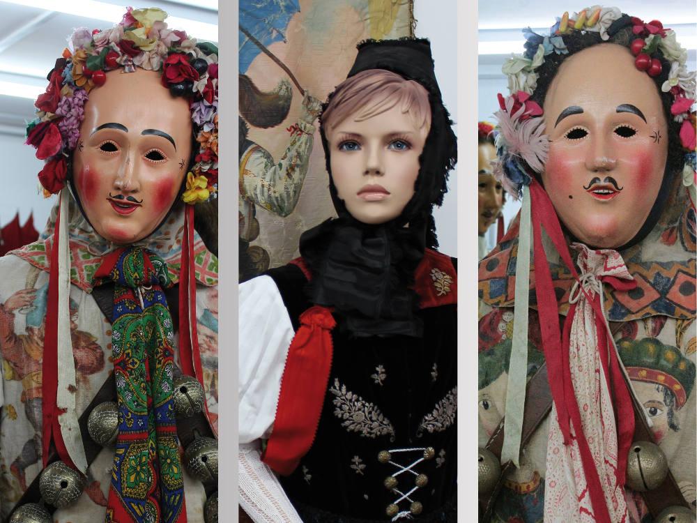 Zunft-Museum Narrenzunft Frohsinn Donaueschingen Larven