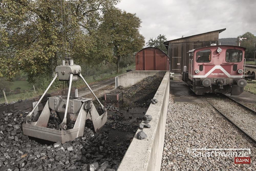 Sauschwänzlebahn Schienen