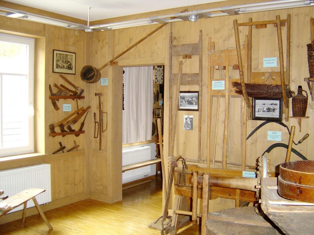 Dorf- und Uhrenmuseum, Gütenbach, Stube