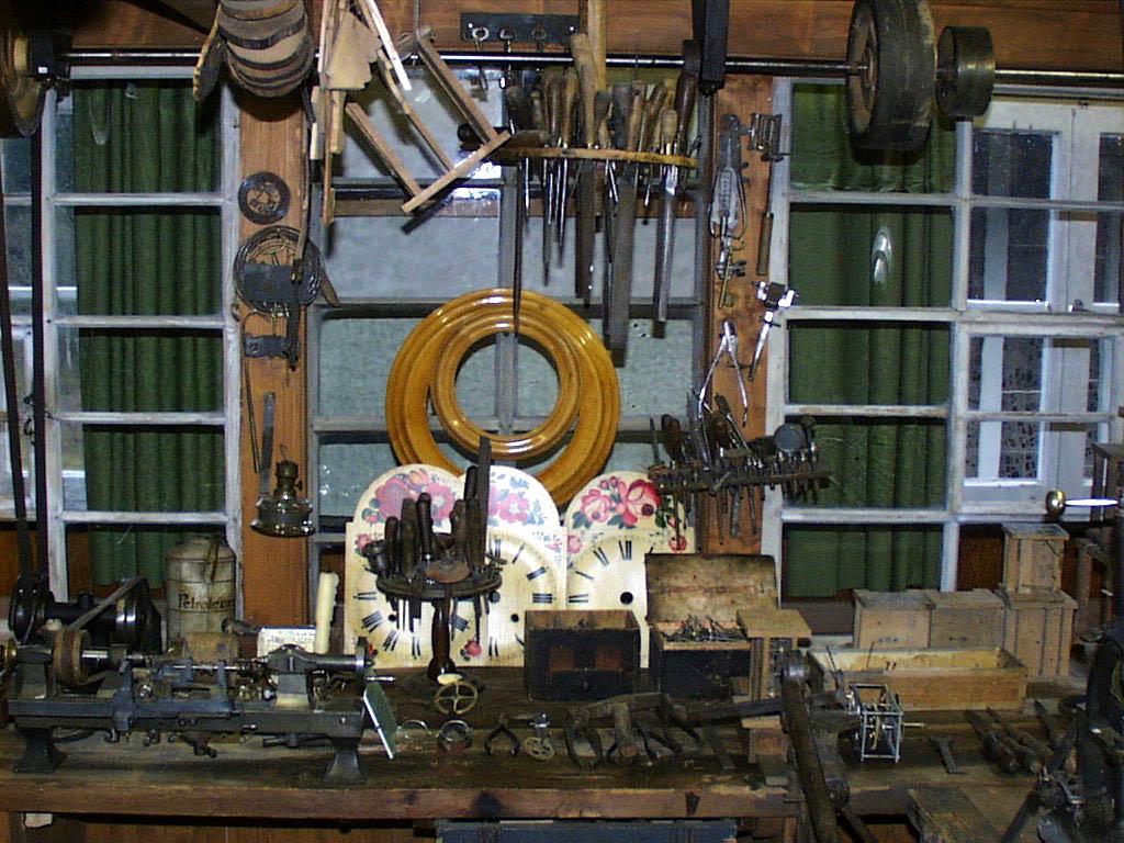 Dorf- und Uhrenmuseum, Gütenbach, Innenansicht
