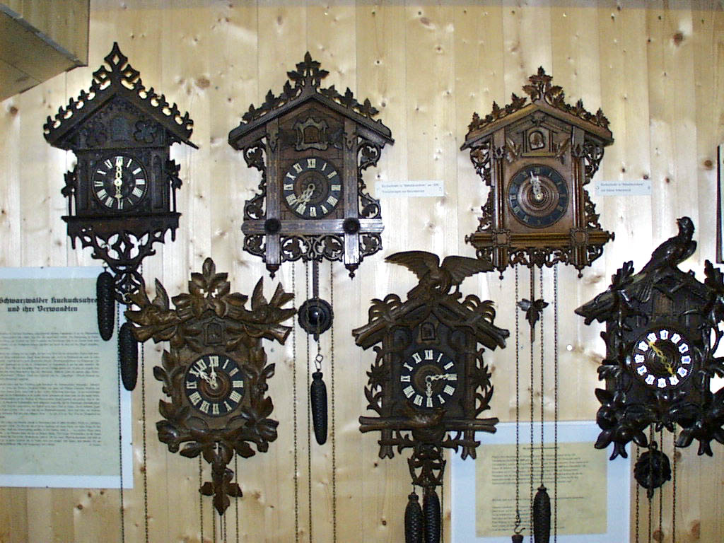 Dorf- und Uhrenmuseum, Gütenbach, Kuckucksuhren