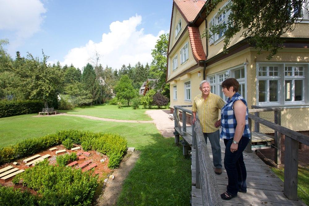 Albert-Schweitzer-Haus Königsfeld, Garten