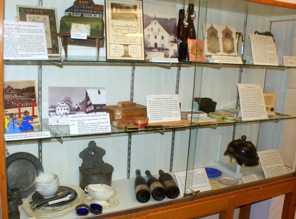Historische Sammlung Königsfeld, Exponate