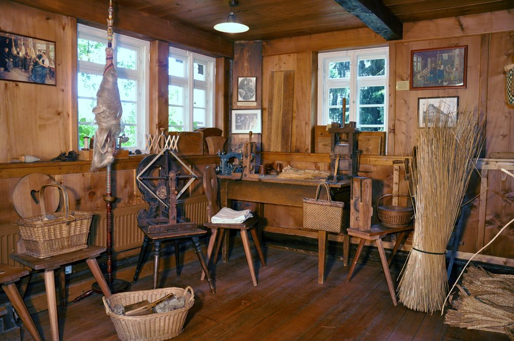 Heimatmuseum Schwarzes Tor, St. Georgen, Stube