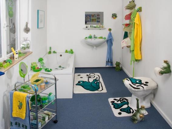 Froschmuseum, St. Georgen, Badezimmer