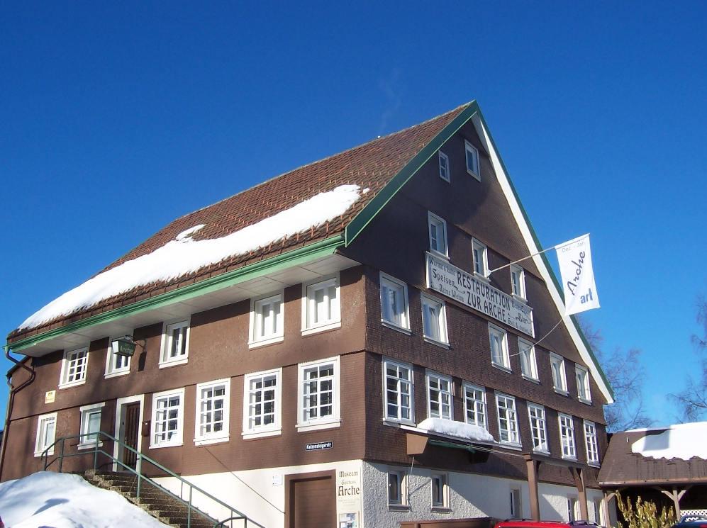 """Museum """"Gasthaus Arche"""", Furtwangen, Gebäude"""