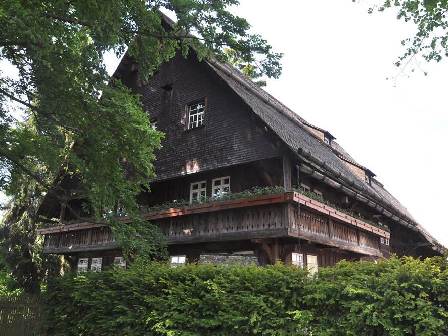 Heimatmuseum Schwarzes Tor, St. Georgen, Schwarzwaldhaus
