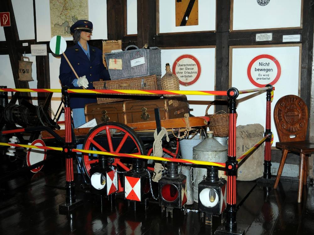 Eisenbahnmuseum Zollhaus Trio-K