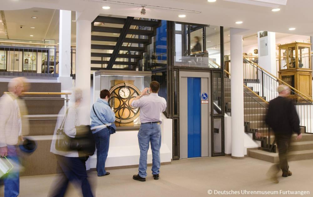 Deutsches Uhrenmuseum Furtwangen, Besucher