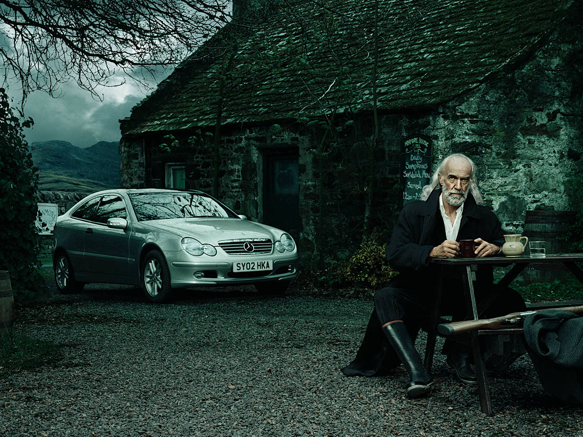 Dieter Eikelpoth: Whisky Trail Scotland, 2003 © Dieter Eikelpoth