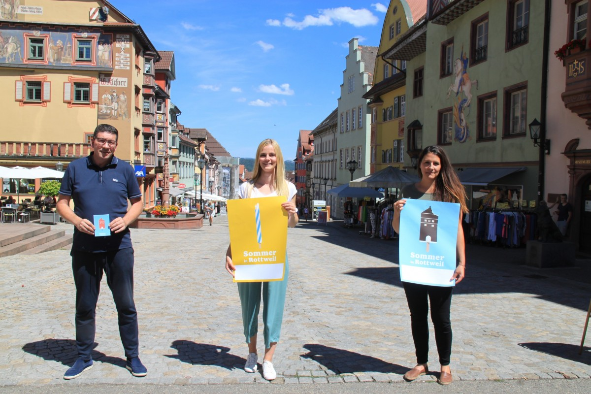 Sommer in Rottweil
